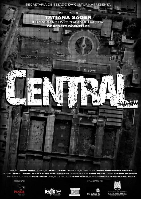 O filme mostra o cotidiano inóspito do Presídio Central de Porto Alegre